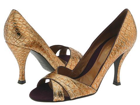 Sergio Rossi Deside Oro/Plum - Footwear