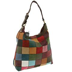 Lucky Brand Large Patchwork Mailbag - Free Shipping & Return Shipping :  leather bag zappos patchwork leather