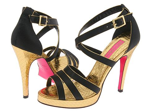 Betsey Johnson Cruz :  zappos metallic wild side shoes