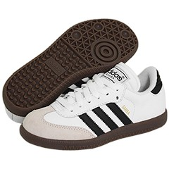 Samba® Classic Core (Toddler/Youth) by adidas Kids at Zappos.com