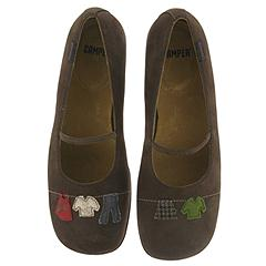 Camper Twins-20251 (Brown Suede) - Camper Women's Entire Collection