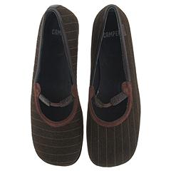 Camper Twins-20250 (Brown Fabric/Striped) - Camper® Women's Twins Collection