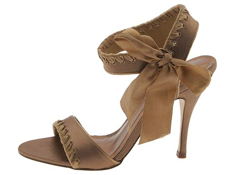 rsvp Allure-2 (Taupe Satin) - Sandals :  sandal metallic dressy shoes