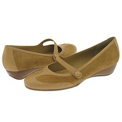 Easy Spirit Justabit (Light Brown/Light Brown Suede) - Women's Casual from zappos.com