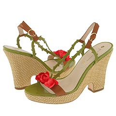 Celine Thorny Rose Demi-Wedge    Manolo Likes! Click!