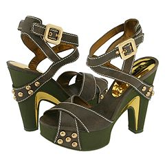 Marc by Marc Jacobs 673932 (Army Goat) - Dress Sandals :  jacobs army sandals dress