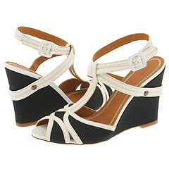 MISS SIXTY - Philomel (White/Black) - Footwear