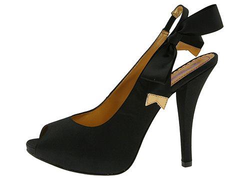 Hale Bob Melanie (Black) - Hale Bob Footwear :  melanie gorgeous heels sandals