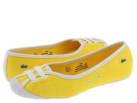 Lacoste Ithia Jaune White Women 39s Designer Collection rubber sole croc