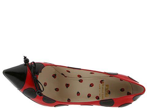 Moschino C10022 Lsx1 5A (Red/Black)