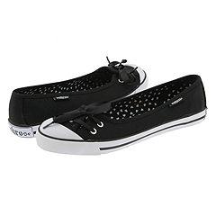 Punkrose Milly (Black) - Skimmer/Ballerina Casual Flats