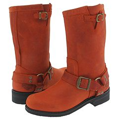 Harley-Davidson Sonora (Orange) - Motorcycle Casual Boots from zappos.com