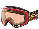 Smith Optics - Phenom (Black/Orange Adaptation/Gold Sensor Mirror) - Eyewear