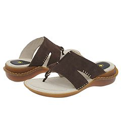Dr. Martens - Stephanie Toe Post (Dark Brown) Sandals