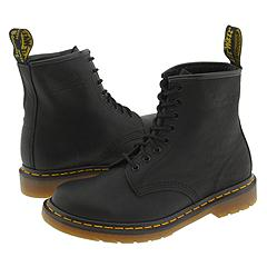 Dr. Martens - 1460 (Black Greasy) Boots