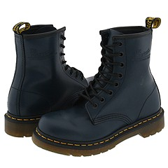 Dr. Martens - 1460 W (Navy Smooth) Boots