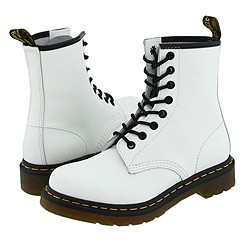 Dr. Martens - 1460 W (White Smooth) Boots