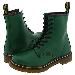 Dr. Martens - 1460 W (Green Smooth) Boots