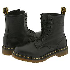 Dr. Martens - 1460 W (Black Nappa) Boots