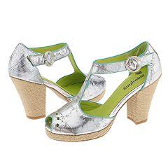Faryl Robin Felona (Bronze) - Faryl Robin Footwear :  shoe felona t bar sandal modern flapper