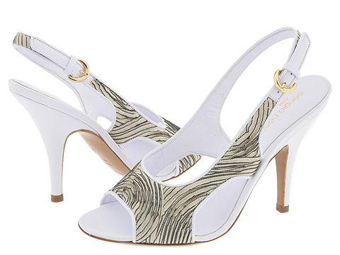 Sergio Rossi Glykeria Bianco/Polvere/Bianco - Footwear