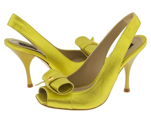 Etro 3023 (Gold) - Women's Designer Collection :  pumps designer etro yellow