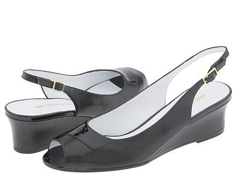 BRUNOMAGLI - Luz (Black Kidskin/Patent) - Footwear