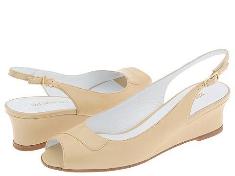 BRUNOMAGLI - Luz (Creme Kidskin/Patent) - Footwear