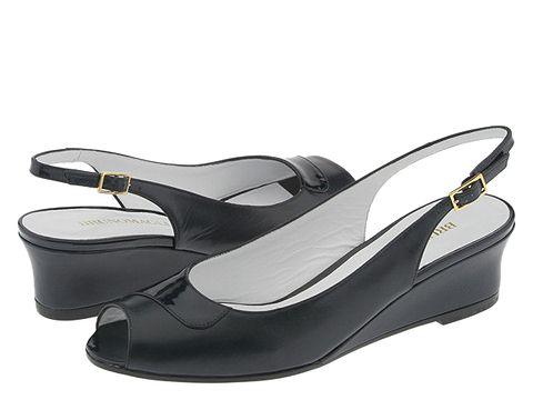 BRUNOMAGLI - Luz (Navy Kidskin/Patent) - Footwear