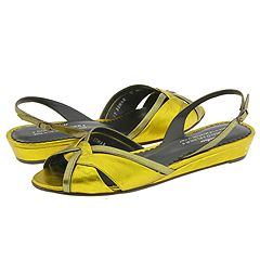 Donald J Pliner Bomar (Kiwi Antique Metallic/Cactus Antique Metallic) - Women's from zappos.com
