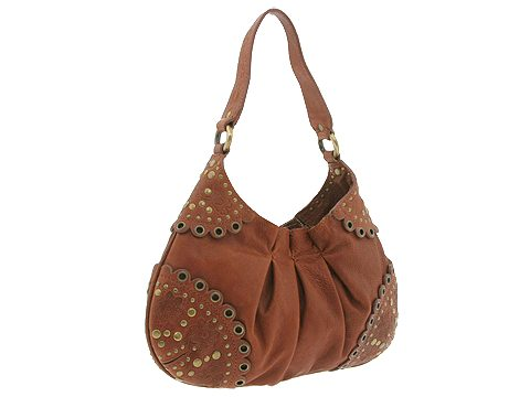 Moschino B7422 Small Hobo Caramel 0098 - Bags and Luggage