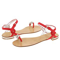 Giuseppe Zanotti Toe Ring Sandals     Manolo Likes!   Click!
