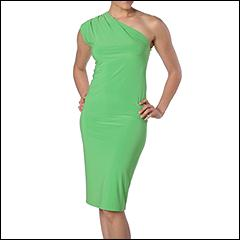 Norma Kamali Everlast Draped One Shoulder - Free Shipping Both Ways & 365-Day Return Policy from zappos.com