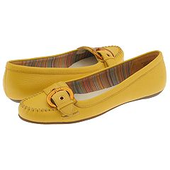AK Anne Klein Ericson (Light Yellow Leather) - Shoes