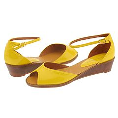 Chinese Laundry Katy (Yellow Patent) - Women's :  wedge zappos womens chinese laundry