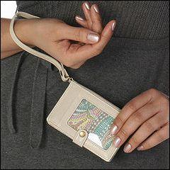 Hobo International Lark (Linen Vintage Leather) - Wallet