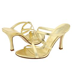 Lumiani Victoria (Gold Nappa) - Strappy Dress Sandals from zappos.com