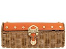 MICHAEL Michael Kors - Santorini Clutch (Orange (800)) - Bags and Luggage