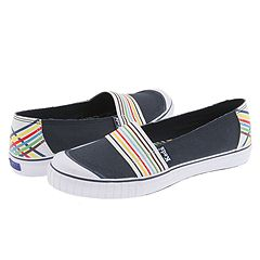 Keds Rave Rainbow Slip On :  tennis shoe sneaker rainbow skimmer