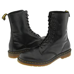 Dr. Martens - 1490 (Black Smooth) Boots