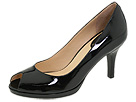 Cole Haan - Air Carma Open Toe Pump (Black Patent Leather) - Footwear