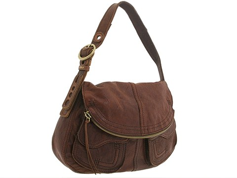 Lucky Brand - Leather Stash Bag (Vintage Brown) - Bags and Luggage