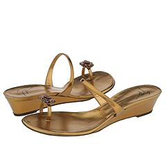 Golden Toe Ring Sandals from Giuseppe Zanotti   Manolo Likes!  Click!