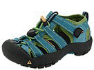 Keen Kids - Newport H2 (Toddler/Youth) (Caribbean Sea) - Footwear