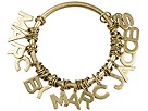 Marc by Marc Jacobs - Fan Bangle (Antique Brass) - Jewelry