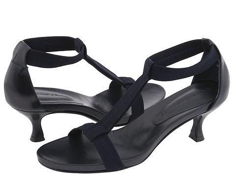 Donald J Pliner - Bozie (Navy Mesh Elastic/Baby Calf) - Footwear