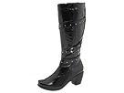 Naot Footwear - Allure (Black Crinkle Patent) - Footwear