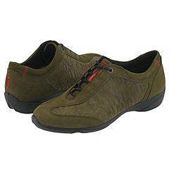 ECCO - Cloud Ghillie Tie (Olive Oiled Nubuck) - Footwear