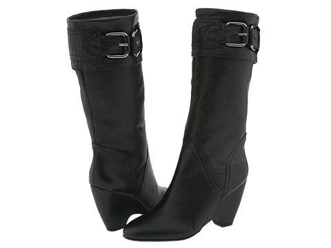 Via Spiga - Girola (Black Leather) - Footwear