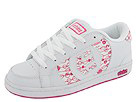 etnies Kids - Kids Capital (Toddler/Youth) (White/Pink/Pink)